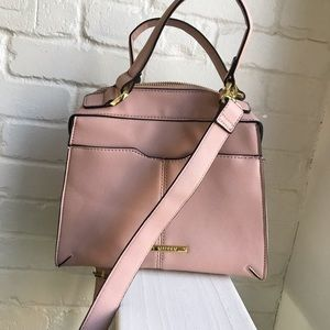 Steve Madden like new pink purse / tote crossbody
